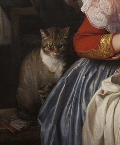 Carl Bloch (1834-90) - In a Roman Osteria (detail), 1866. Statens Museum for Kunst, Copenhagen
