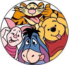 Eeyore With Winnie The Pooh, Tigger & Piglet Winnie The Pooh Tattoos, Winnie The Pooh Drawing, Winnie The Pooh Pictures, Cute Winnie The Pooh, Winne The Pooh, Walt Disney, Disney Art, Cute Disney Wallpaper, Cartoon Wallpaper