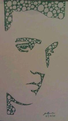 Elvis Fractal Art