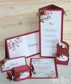 Menükarten on Pinterest  Hochzeit, Style Guides and Company Dinner