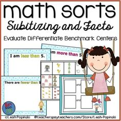 Check these out for Spring numeracy bechmarks! Spring Math Sorts - Subitizing and Math Facts - Spring activities and numeracy fun! Practice, differentiate and assess! Perfect for Spring Numeracy Benchmarks! Numeracy Activities, Spring Activities, Math Tubs, Subitizing, Activity Mat, Math Workshop, Math Facts, Math Resources, Math Lessons