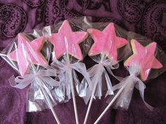 The Cake Stand: Princess Fairy Wand Cookie Pops