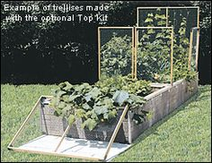 Raised-Bed Kit - Gardening lee valley tools