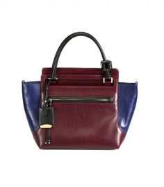 #ShopBAZAAR - Jil Sander New Malavoglia Colorblock Small Tote