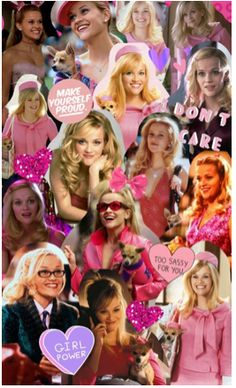 Collage # 81 Sie Woods Source by Nightmaremaybe The post Collage # 81 Elle Woods appeared first on Verschiedene rechtliche Informationen. Blonde Aesthetic, Pink Aesthetic, La Revanche D'une Blonde, Elle Woods Quotes, Clueless Quotes, Bend And Snap, Chick Flicks, Photo Wall Collage, Cultura Pop