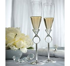 Diamond Wedding Theme   Diamond Wedding Accessories  CUTE!