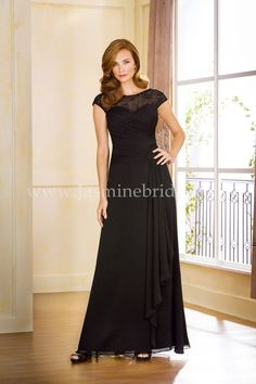 34743f1ca3c Jasmine Bridal Jade Style J175053 in Black    Bride Groom Dress