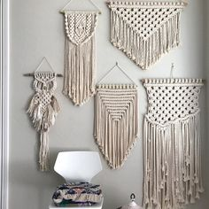 Macrame, all day, everyday. ✨