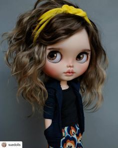 Pretty Dolls, Beautiful Dolls, Beautiful Outfits, Blythe Dolls For Sale, Bjd Dolls, Kawaii Doll, Foto Baby, Valley Of The Dolls, Little Doll