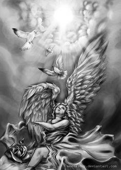 Resultado de imagen para angel sleeve