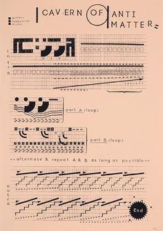 Affiche typographique par Damien Tran
