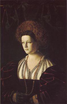 Portrait of a lady, by Bartolomeo Veneto