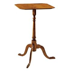 18th century antique reproduction  Side Tables Dunlap Candle Stand