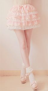 AH! It's so frilly and pink I love it, it speaks to my soul!