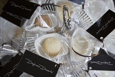 Macarons packaged and ready for the bake sale by DaydreamerDesserts, via Flickr