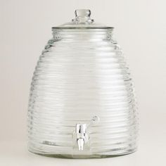 One of my favorite discoveries at WorldMarket.com: Beehive Drink Dispenser