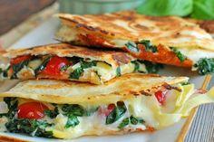 20 Must-Try Vegetarian Quesadilla Recipes