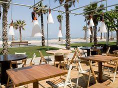Restaurant Pez Vela - direkt  am Stand von Barcelona - toller Blick, gutes Essen