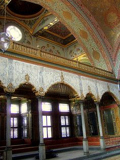 The Harem of Topkapı Palace, İstanbul, Turkey.
