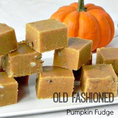 Pumpkin Fudge - an old fashion recipe that your family will love