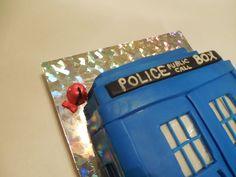Dr. Who TARDIS cake