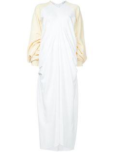 J.W.ANDERSON Elongated Sleeves Maxi Dress. #j.w.anderson #cloth #dress