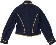 Military & Patriotic:Civil War, USA Cavalry Shell Jacket ID'd to Joseph Marrs....