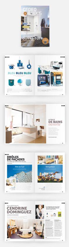 L'édition n°8 de CedeoVous, le magazine des tendances de la salle de bains #OPS2