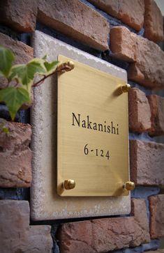 Signage Board, Entrance Signage, Exterior Signage, Entrance Design, Wayfinding Signage, Signage Design, Name Plate Design, Name Design, Name Plates For Home