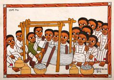 Image result for ethiopia traditional drawings