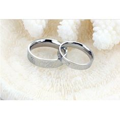 Lock and Key shape real diamond matching Couples His and Her Rings