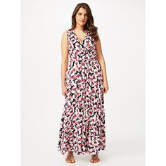 Buy Studio 8 Georgia Maxi Dress, Multi from our Women's Dresses range at John Lewis & Partners. Easy Wear, Bodice, Georgia, Curvy, Floral Prints, Size 12, Studio, Fabric, How To Wear