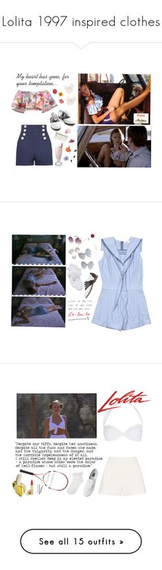 """Lolita 1997 inspired clothes"" by nymphetdream ❤ liked on Polyvore featuring lolita, lolita1997, lolitafashion, DOMESTIC, Koo-Ture, Pinup Couture, Forever 21, Esque Studio, nymphet and John Lewis"