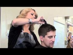 CLIPPER HAIRCUT & EYEBROW TRIM (very detailed demo) by Africa Martinez - YouTube