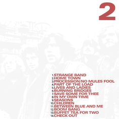 FAMILY - BBC RADIO DISC 2 tracklist CD COVER