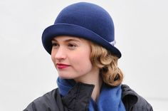 Lily James as Lady Rose McClare on the set of Downton Abbey.