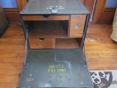 Vintage WWII Era US Army Field Desk World War II Two Military   eBay