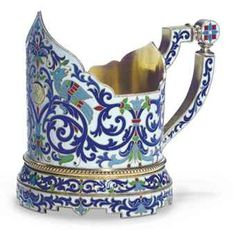 russian silver tea glass-holder - Bing Images