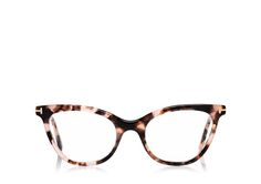 Cat-Eye Temple Optical Frame from Tom Ford Cute Glasses, New Glasses, Cat Eye Glasses, Girls With Glasses, Glasses Frames, Fashion Eye Glasses, Four Eyes, Optical Glasses