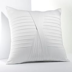 Simply Vera Vera Wang Whisper Pleated Decorative Pillow