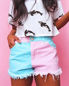 Pastel Summer Shorts