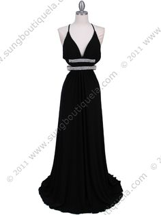 Black Evening Gown. Style #: 1249. For only $99. Get yours today at www.SungBoutiqueLA.com