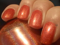 OPI Crim-sun from the Summer for Shore Collection.