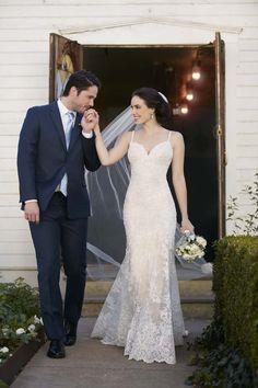 Martina Liana Wedding Gown / http://www.modernwedding.com.au/wedding-directory/martina-liana/
