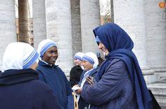 Gran expectació abans de la misa Pro Eligendo Summo Pontifice
