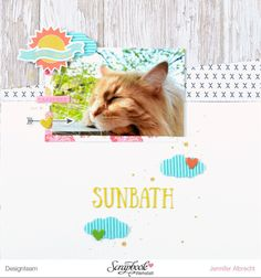Scrapbook-Werkstatt DT - Fancy Pants Life is Beautiful - Layout von Jennifer Albrecht