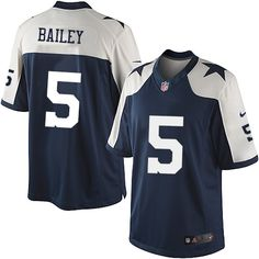 cd2edf329 ... Mens Nike Dallas Cowboys 5 Dan Bailey Limited Navy Blue Throwback  Alternate NFL Jersey Sale ...