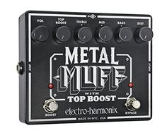 #fun #hot The ultimate #metal distortion pedal. Three powerful EQ bands sculpt the midst and 6 controls shape the sound precisely for your groove from slithering...