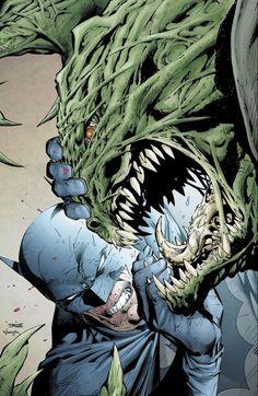 Batman #610 cover by Jim Lee