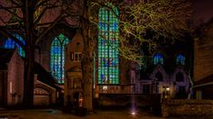 St. Jan Gouda Stained Glass windows enlightend by Hans Tibben on 500px